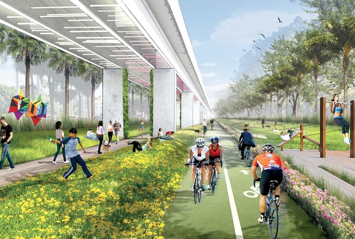 The High Line's co-designer wins contract for The Underline in Miami