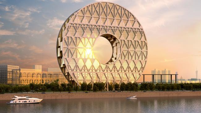 The Guangzhou Circle.