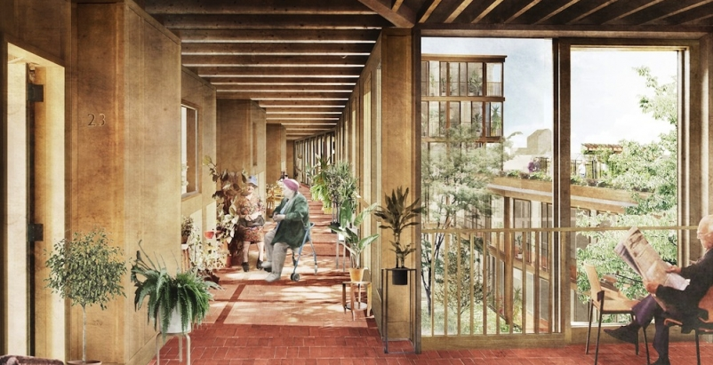 Witherford Watson Mann designs innovative South London elderly community