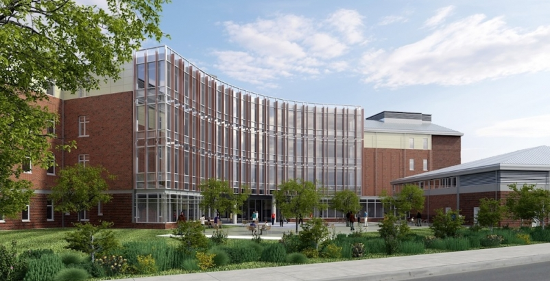 Buckling restrained braced frame debuts in the Northeast at Bronx health center