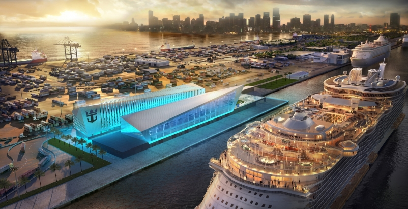 Broadway Malyan designs Miami terminal for Royal Caribbean Cruises