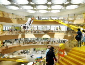 CF Møller designs LEGO world headquarters complex in Denmark