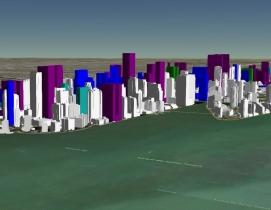 Interactive map shows present and future Miami skyline