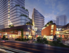 Goettsch Partners and Lead 8 win design competition for Shanghai mixed-use complex