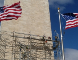 Washington Monument restored after rare East Coast earthquake