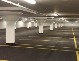 Massive Chicago parking garage gets overdue waterproofing maggie daley
