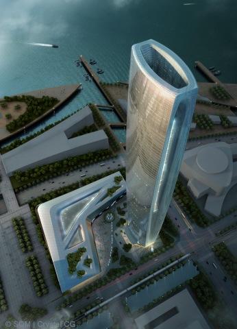 Skidmore Owings & Merrill Greenland Group Suzhou Center