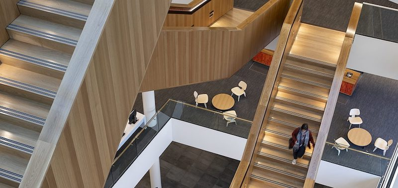 Turanga library stairs