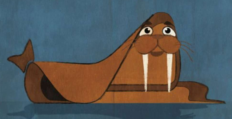Illustrator Federico Babina explores architecture as animals