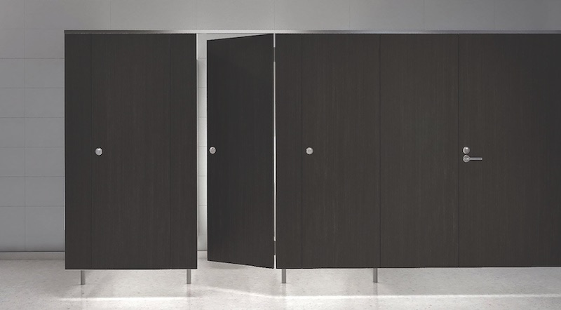 Product Innovations Bathroom Cubicles Digital Glass