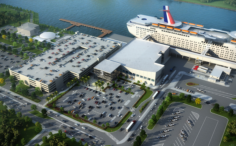 Port Canaveral cruise Terminal 3