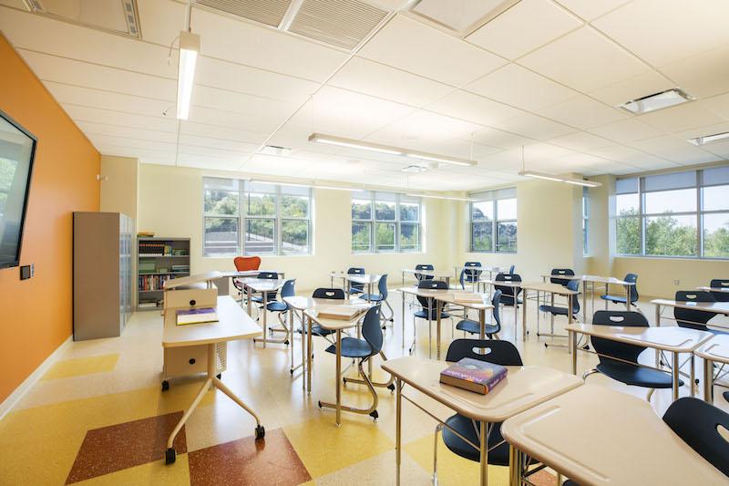 High Tech High School classroom