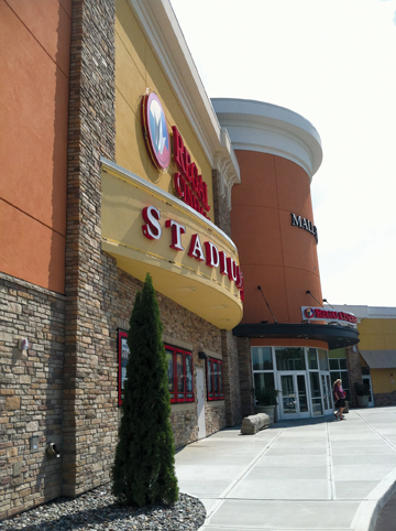 Stone Veneers Blend Theater Exterior With Existing Complex