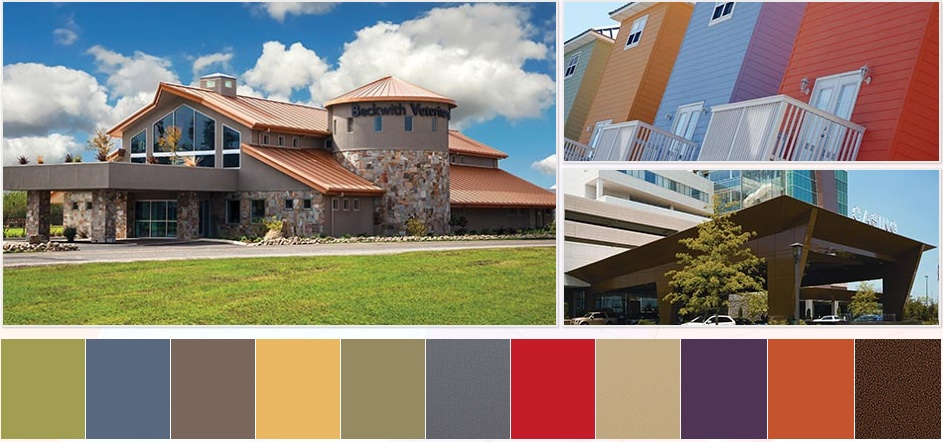 3 color trends drive new commercial exterior color collections