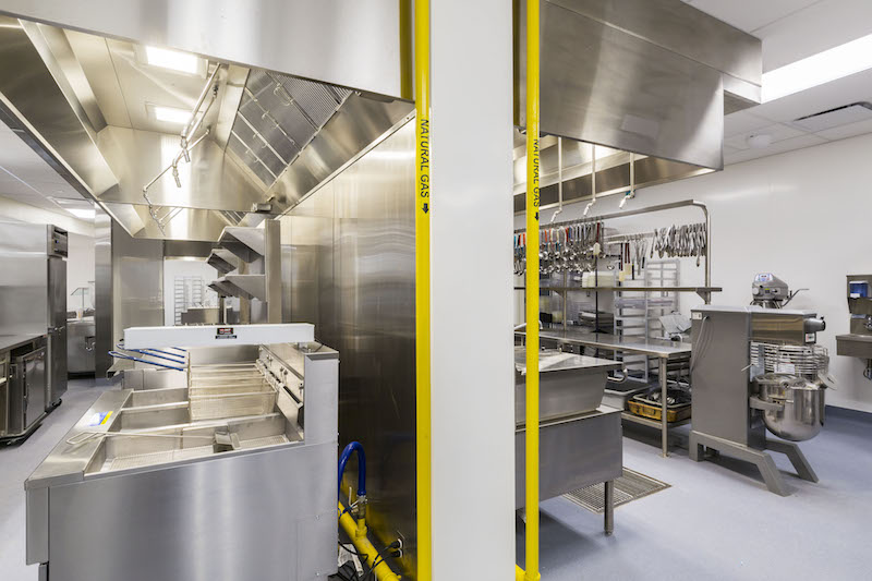 Culinary Kitchen at High tech High School