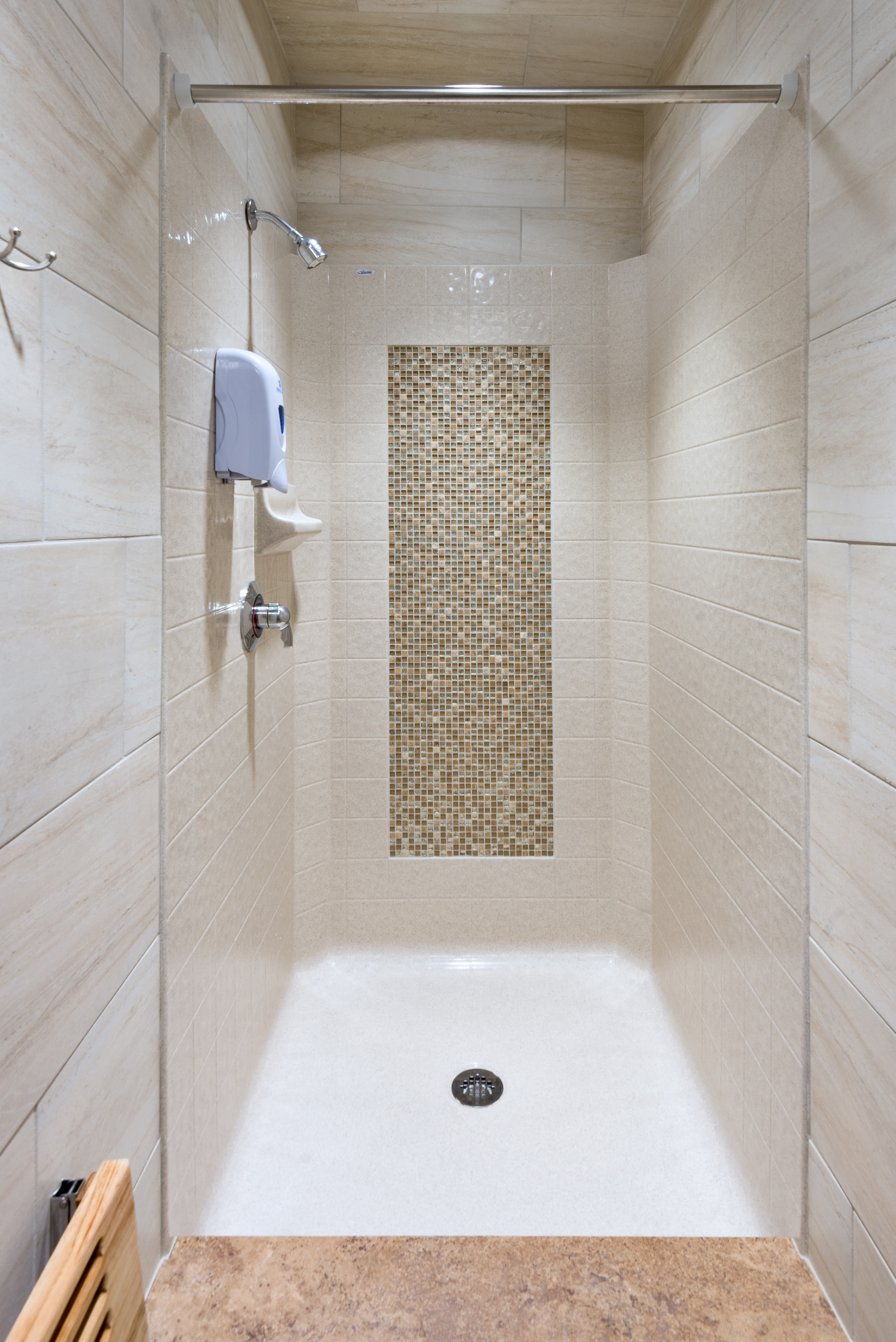 bathroom tile height shower threshold height a better shower from the ground 11620