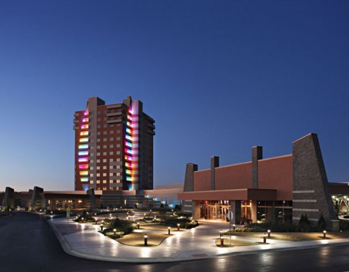 Quapaw Downstream Casino Resort, Quapaw, Oklahoma; Courtesy Manhattan Constructi