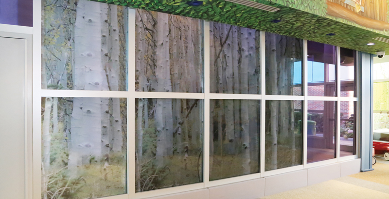 Fire rated glass brings whimsical and reliable protection at children's hospital