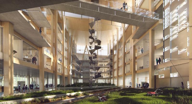 The large atrium biome in ISTB-7