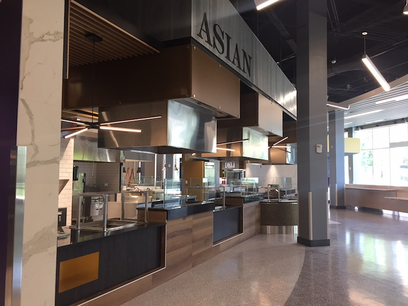 JMU D-Hall dining hall