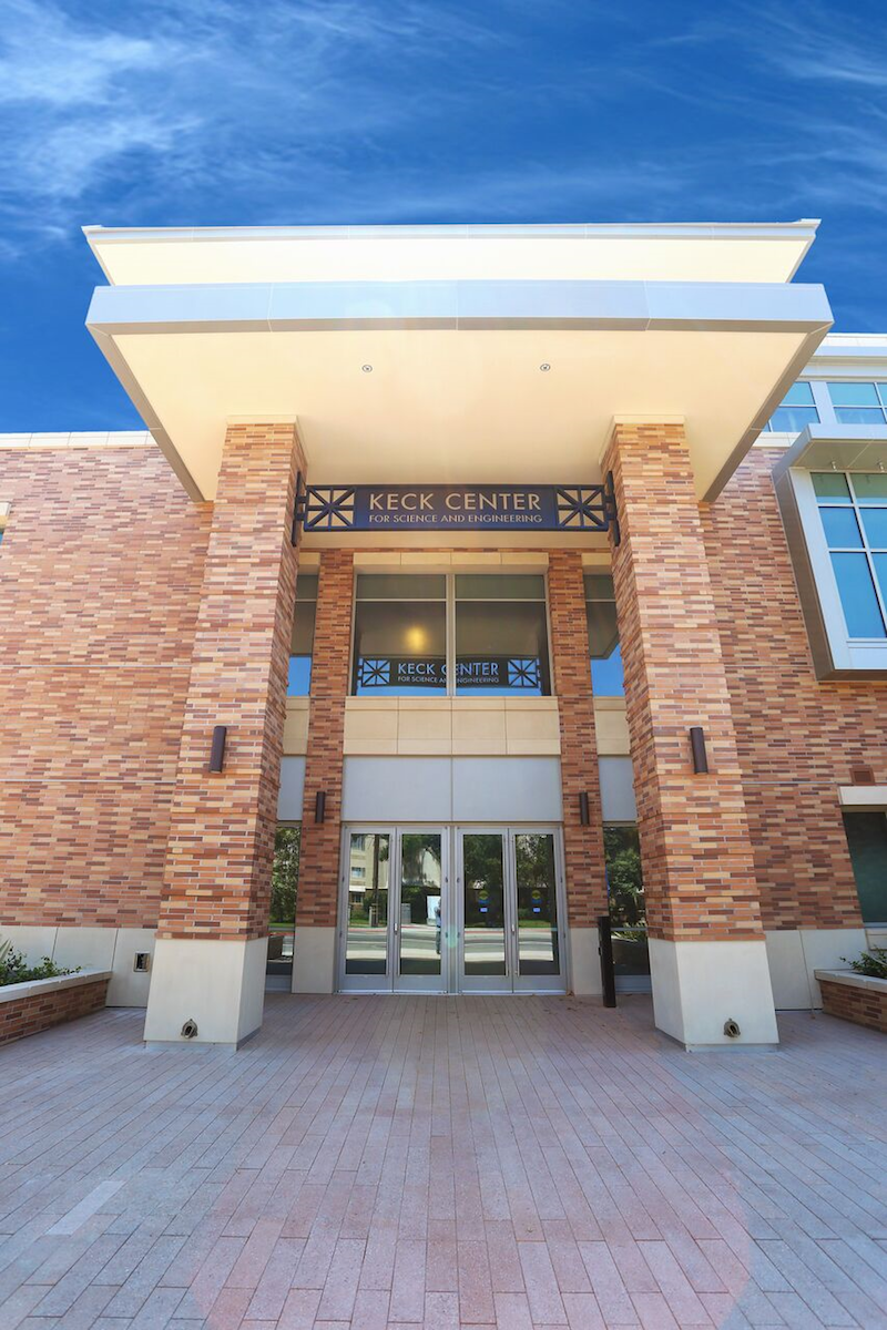 Keck Center entrance