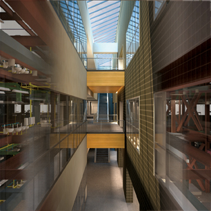 LEO A DALY, in a design-build project with Kiewit Construction, provided design