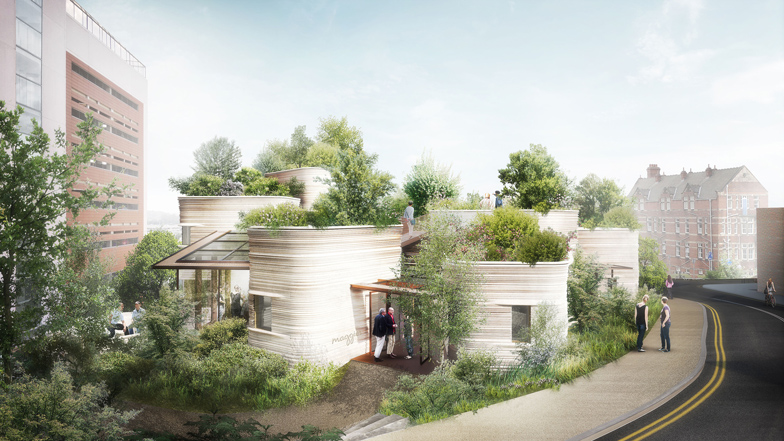 Heatherwick's design for cancer center branch has 'healing power'