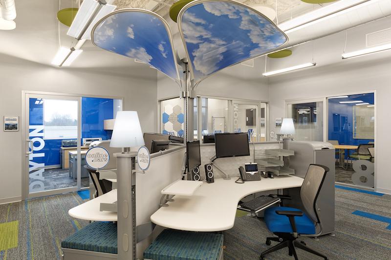 McCluskey Headquarters work space