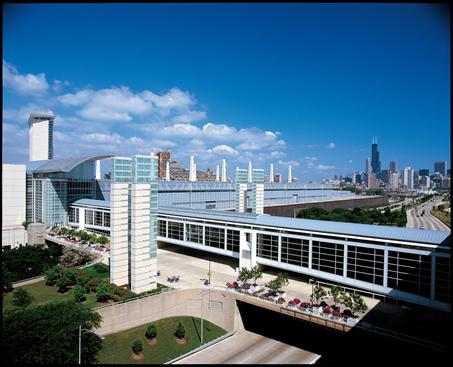 McCormick Place is the biggest convention center in the country, in large part b