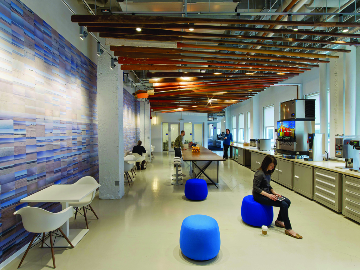 office sector giants today s workplace design must appeal to