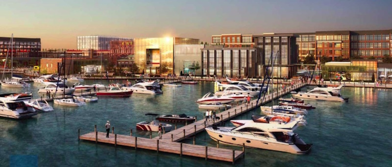 The Riverton mixed-use development in New Jersey