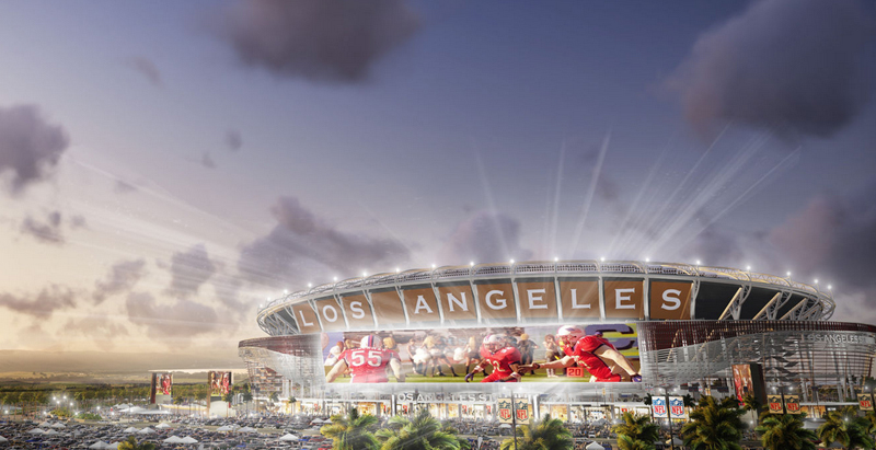 Chargers and Raiders propose joint stadium in Carson