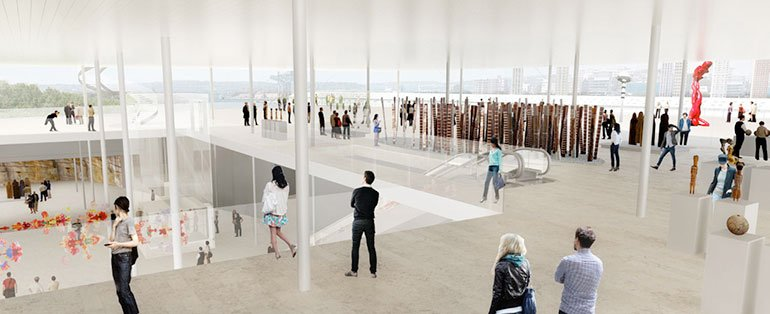 SANAA won bid to design new building for Art Gallery of New South Wales