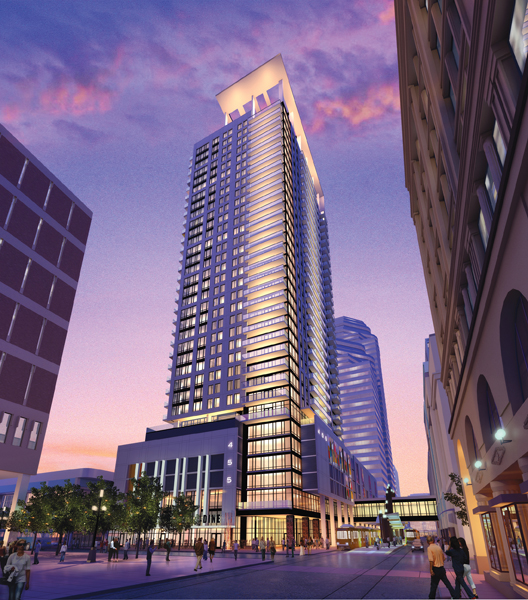 Downtown Dc Apartments: Downtown Minneapolis To Receive First Luxury High-rise