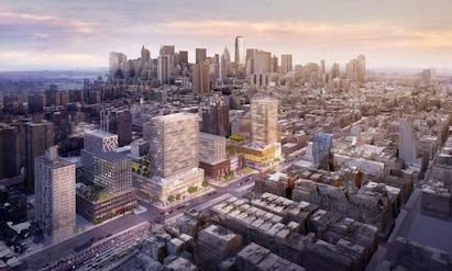 Essex Crossing marks the redevelopment of a long-vacant six-acre parcel on New Y