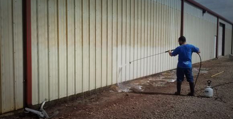 Metal building maintenance is essential