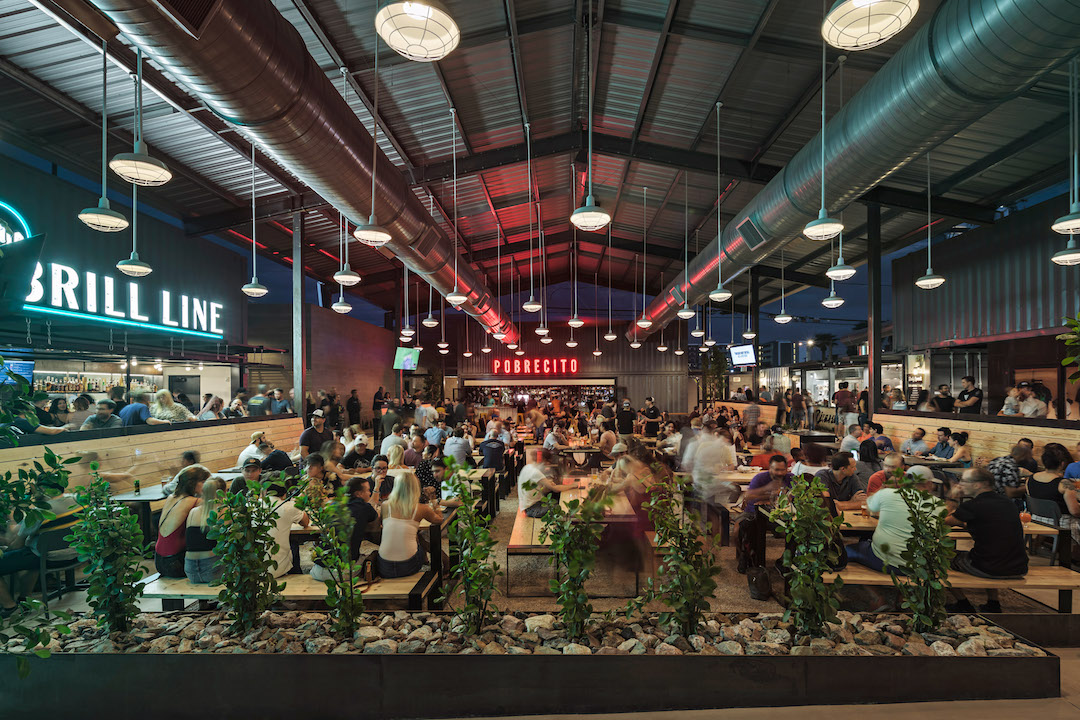 Nissan Dealership Houston >> 19 decommissioned shipping containers become downtown ...