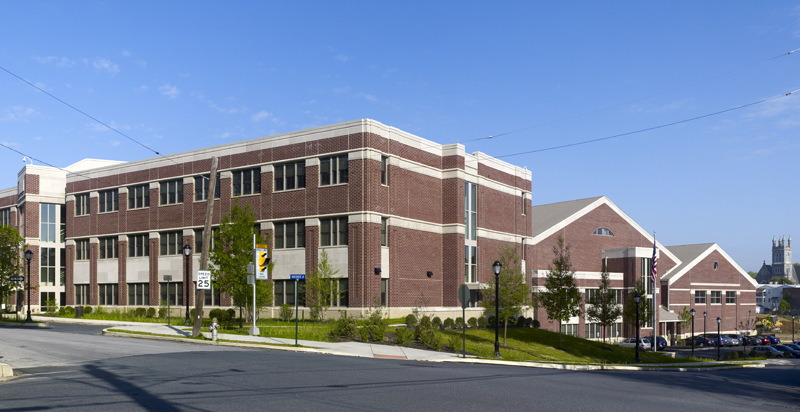 Radnor Middle School features the latest technologies developed for lowering ene