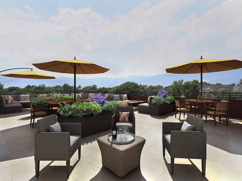 Rooftop Lounge at Atria Westminster