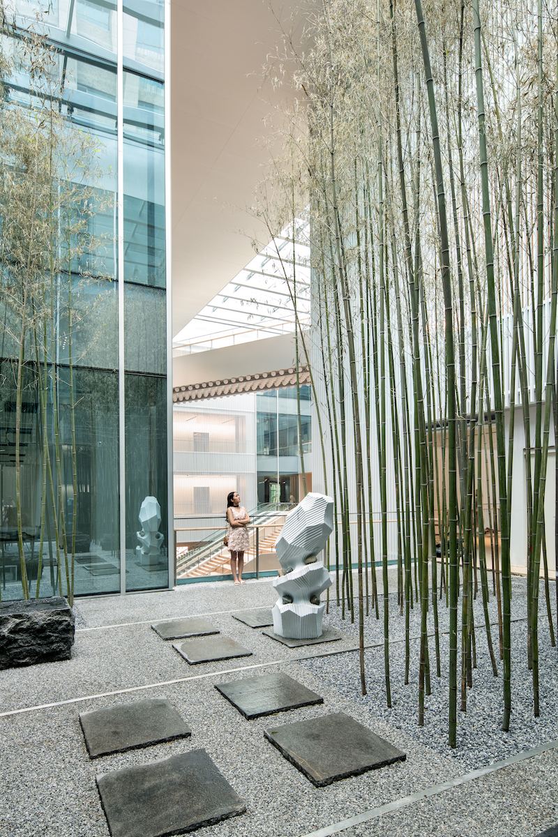 Bamboo Garden in Vanke Times Center