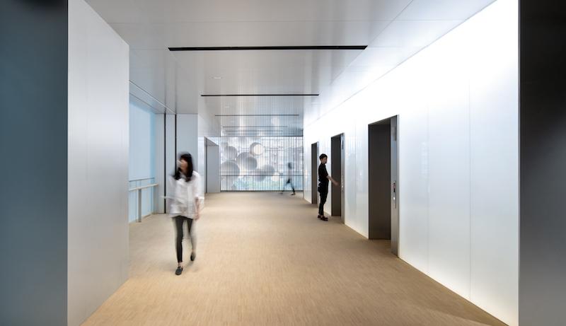 Vanke Times Center hallway