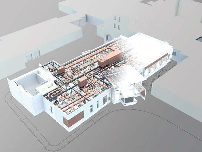 The new Marlborough (Mass.) Hospital Cancer Pavilion is connected to the existin