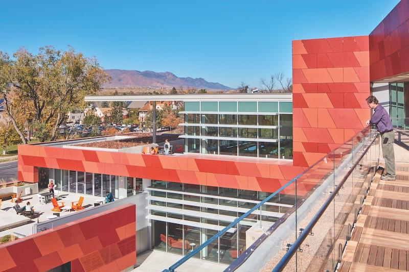 Tutt Library exterior