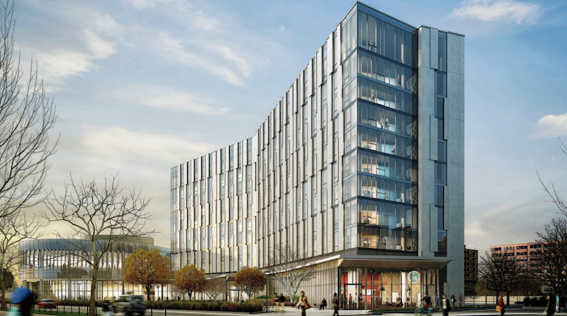 UIC's new living/learning complex