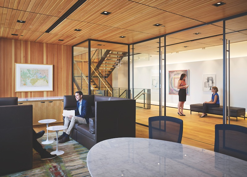the see through office why interior glass is all the rage in