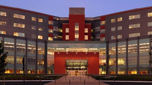 This hospital at Virginia's Fort Belvoir recently achieved LEED Gold.