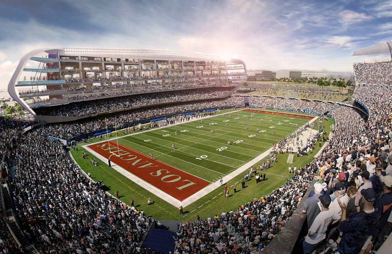 Multi Billion Dollar Stadium Planned As The Nfl Returns To