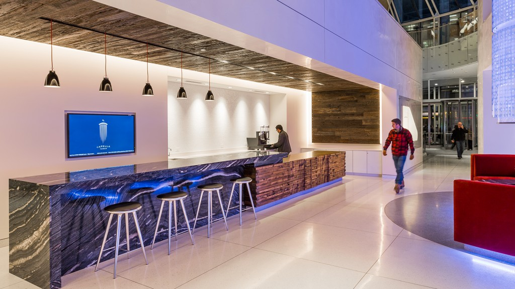 Is The Office Lobby The Workplace Of The Future