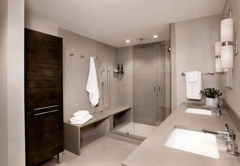 10 top bathroom design trends for 2016 building design for Latest trends in bathrooms