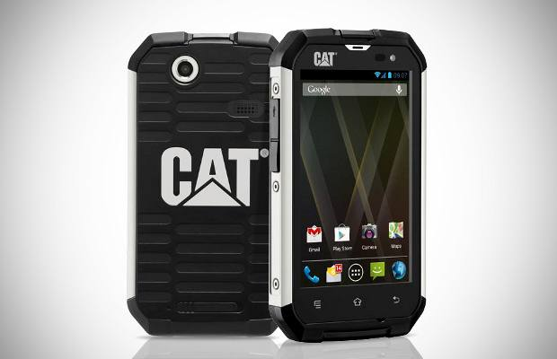 Caterpillars Cat B15 rugged smartphone